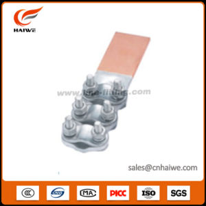 Stl Bimetallic Transition Bolted Terminals Clamp (cable to flat) pictures & photos