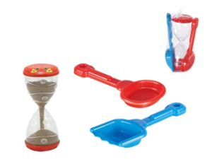3 PCS Lovely Hourglass/Shovel Digger Toy Set Beach Sand Toy pictures & photos