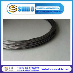 Black Color of 99.95% Pure Tungsten Wires pictures & photos