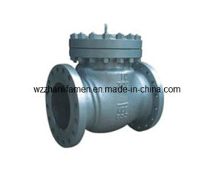 API Cast Steel/Stainless Steel Swing Check Valve (H44H) pictures & photos