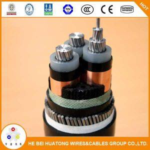 Single Core XLPE Insualted Copper Wire Armour 11kv Aluminum Power Cable pictures & photos