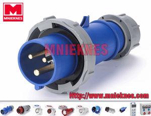 32A 2p+PE IP67 European Standard Industrial Plug (MN3302)