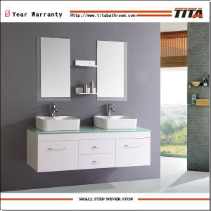 Europe Bathroom Vanity/Glossy Bathroom Vanity/MDF Bathroom Vanity (TH8501) pictures & photos