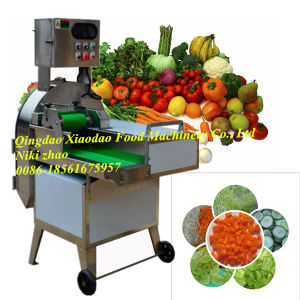 Vegetable and Fruit Cutting Machine /Potato Slicer Machine pictures & photos