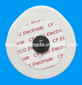 Radiolucent Electrode, PE Foam Backing, 43*45mm pictures & photos
