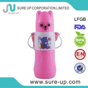 Cute Appearance Plastic Glass Vacuum Water Bottle (FGUM) pictures & photos