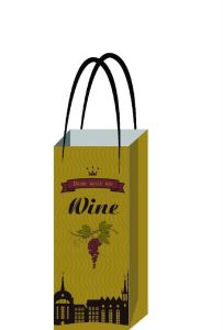 Colorful Wine Paper Bag or PP Bag for Party