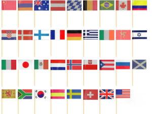 Custom Decorative Flag Toothpick