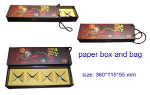 Mooncake Paper Gift Box and Carry-on Shopping Bags pictures & photos