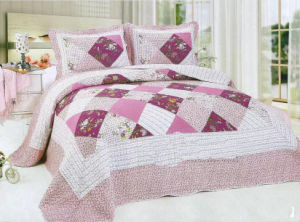 Patchwork Bedding Set Quilts pictures & photos