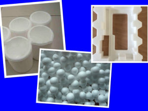 Virgin&recycled plastic granules beads resin EPS pictures & photos