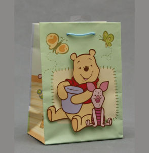 OEM New Design Kraft Promotional Gift Bag pictures & photos
