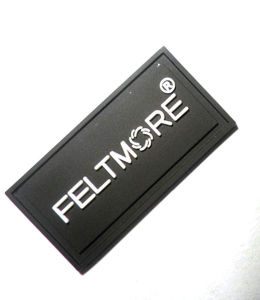 Hot Sale Black Fashion Custom Rubber Patches pictures & photos
