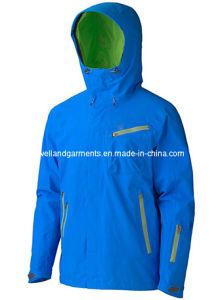 Men′s Outdoor Waterproof Fashion Hoody Jacket (VD-J559)