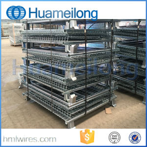 Heavy-Duty Rigid Stackable Wire Mesh Container pictures & photos