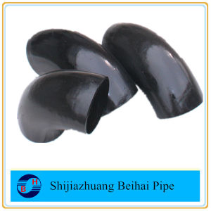 A234 Wpb Carbon Steel Pipe Fitting B16.9 1.5D Lr 180deg Elbow pictures & photos