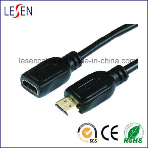 HDMI Cable, Male to Female Plug, 1080P pictures & photos