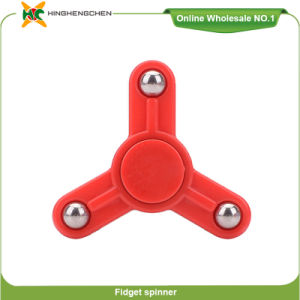 New Hot Selling Products Cheap Small Plastic Toys Fidget Toy Anti-Stress Spinner Toy pictures & photos