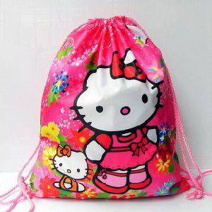 Recycle Promotion Gym Sack Drawstring Bag
