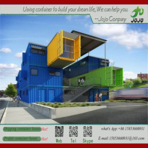 Morden Portable Prefab Glass Wall Shipping Container House/ Office/ Coffee Shop/ Store