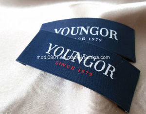 Woven Garment Label/ Clothing Woven Label/ Brand Label for Clothing Main Label Garment Label pictures & photos