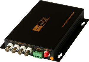 4CH Video Fiber Optic Converter (4V1D) (VDS1400)