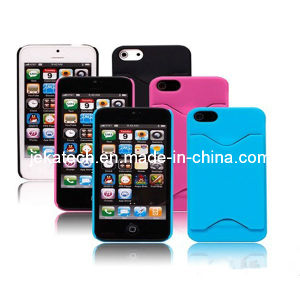 Card Slot Plastic Case for iPhone 5s (JK-IPH5-A-37) pictures & photos