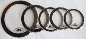 Clear with Black Sound Controled Drum Head (DH-201) pictures & photos