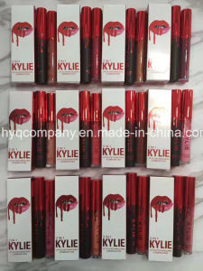 Hot Sale Kylie Lipstick+Mascara 2in1 12colors Lipgloss pictures & photos