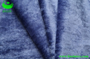 Ice Velvet Sofa Fabric (BS4032) pictures & photos