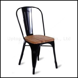 Wood Seat Metal Tolix Chair for Wholesale (SP-MC038W) pictures & photos