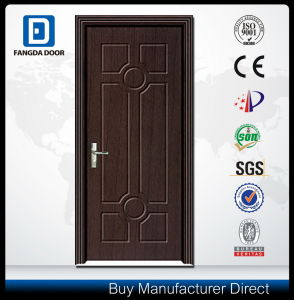Durable and Affordable Utility MDF/PVC Wood Door pictures & photos