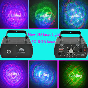 Lanling RGB 3D Holiday Laser Light pictures & photos