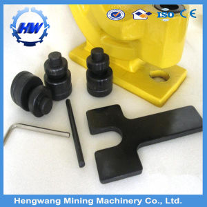 High Quality Portable Hydraulic Hole Puncher pictures & photos