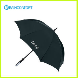 Custom Brand Logo Printed Straight Advertising Umbrella pictures & photos