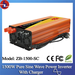 1500W DC to AC Pure Sine Wave Power Inverter with Charger