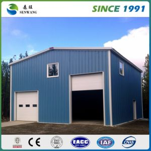 Design Manufacture Steel Structure Workshop Warehouse by H Section Steel pictures & photos