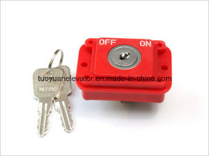 Power Lock Push Button for Elevator Parts (TY-PB08 Power Lock) pictures & photos
