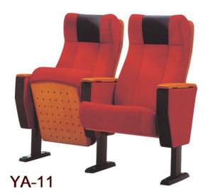High-End Comfortable Auditorium Cinema Chair with PU Headrest (YA-11) pictures & photos