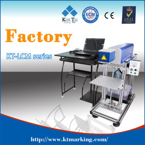 CO2 Laser Marking Printing Machine for Cloth pictures & photos