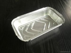 Household Aluminium/Aluminum Foil Container for Food pictures & photos