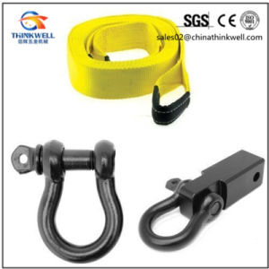 4*4 off-Road Recovery Kit Receiver Hitch with Shackle Tow Strap pictures & photos