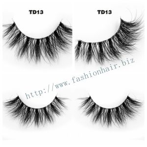 100% Mink Lashes 3D Natural Eyelashes Extensions Siberian Mink Lashes