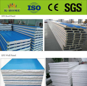Lightweigh Fireproof EPS Sandwich Roof Wall Panel pictures & photos