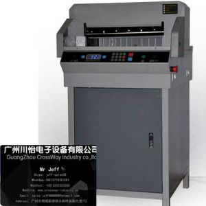 Digital Electric Controlled Electric Paper Cutting Machine 4606r pictures & photos