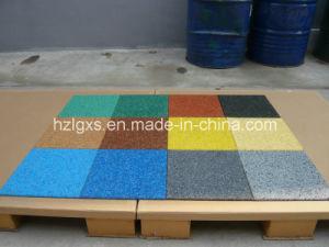 Carpet Colorful EPDM Surface Rubber Flooring Tiles pictures & photos