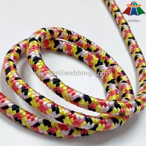 7mm Mixed Color Nylon Cord, 16-Strand Braid Nylon Rope pictures & photos