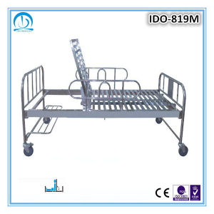 Stainless Steel Hospital Bed with One Function pictures & photos