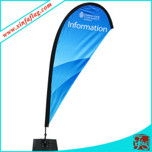 High Quality Beach Teardrop Feather Flag Banner pictures & photos