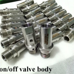 Ecl Water Jet Cutting Head Spare Parts on off Valve Body pictures & photos